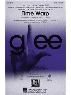 Richard O'Brien: Time Warp (The Rock Horror Picture Show) - SATB Buch | SATB (Gemischter Chor)