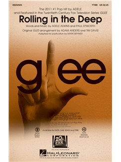 Adele: Rolling In The Deep (Brymer) - TTBB Books | TTBB, Piano Accompaniment