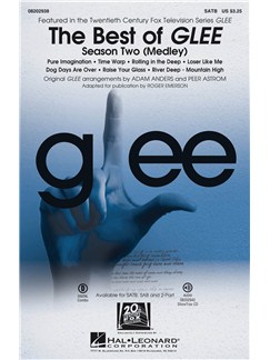 The Best Of Glee - Season Two Medley (SATB) Books | SATB, Piano Accompaniment