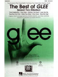 The Best Of Glee - Season Two Medley (SAB) Books | SAB, Piano Accompaniment