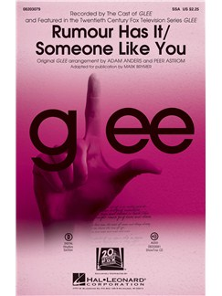 Adele: Rumour Has It/Someone Like You (Choral Mash-up From Glee) Books | SSA, Piano Accompaniment