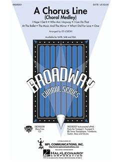 Arr. Ed Lojeski: A Chorus Line (Choral Medley) Books | SATB/Piano Accompaniment