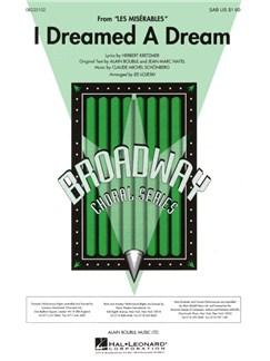 Alain Boublil/Claude-Michel Schonberg: I Dreamed A Dream (SAB) Books | SAB, Piano Accompaniment