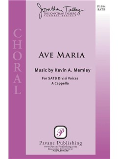 Kevin Memley: Ave Maria SSAATTBB A Cappella Books | SATB