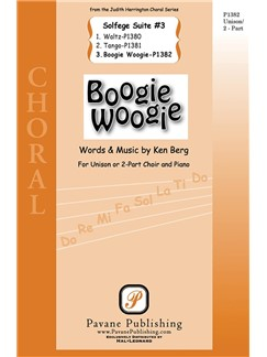 Ken Berg: Boogie Woogie From Solfege Suite #3 2-Part Choral Books   2-Part Choir