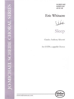 Eric Whitacre: Sleep Books | SATB