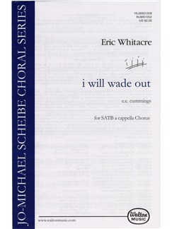 Eric Whitacre: I Will Wade Out (SATB) Books | SATB