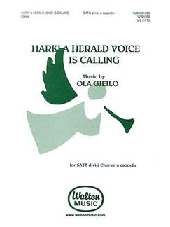 Ola Gjeilo: Hark! A Herald Voice Is Calling Books | SATB