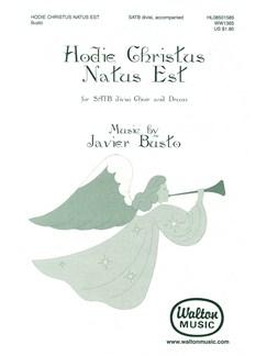 Javier Busto: Hodie Christus Natus Est Books | SATB