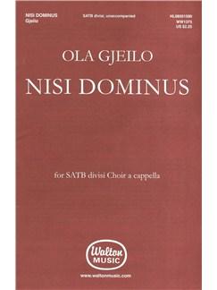Ola Gjeilo: Nisi Dominus Books | SATB