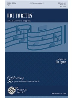 Ola Gjeilo: Ubi Caritas (SATB) Books | SATB