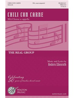 Anders Edenroth: Chili Con Carne (SSAA) Books | SSA