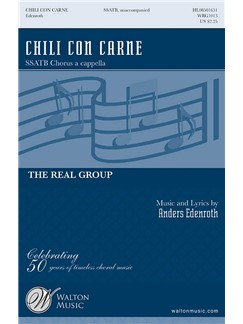 Anders Edenroth: Chili Con Carne (SSATB) Books | SSATB