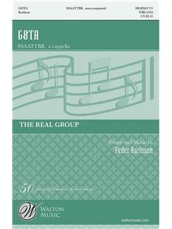 The Real Group: Gøta (SATB) Books   SATB
