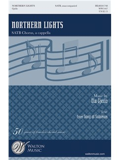 Ola Gjeilo: Northern Lights Books | SATB