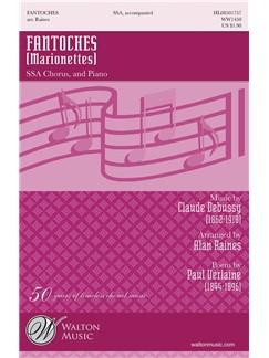 Claude Debussy: Fantoches (Marionettes) (arr. Raines) SSA Books | SSA