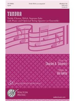 Ola Gjeilo: Tundra (Vocal Score) Books | SSAA, Piano Accompaniment