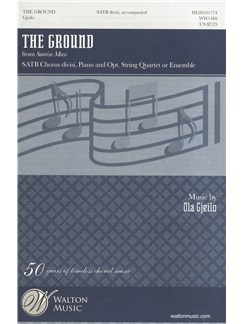 Ola Gjeilo: The Ground - Vocal Score Libro | SATB, Acompañamiento de Piano, Coral
