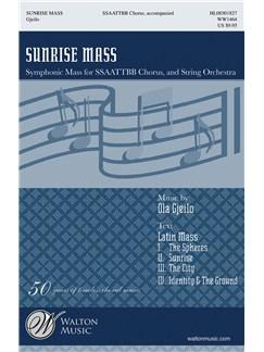 Ola Gjeilo: Sunrise Mass Bog | SATB