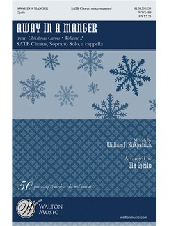 Ola Gjeilo: Away In A Manger Books | SSATB, Choral
