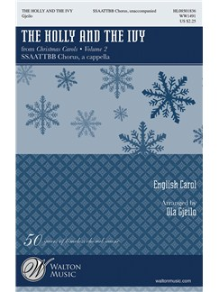 Ola Gjeilo: The Holly And The Ivy Books | SSAATTBB, Choral