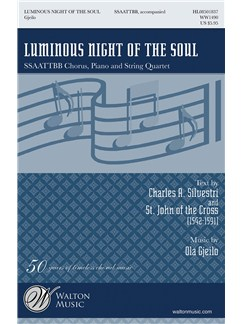 Ola Gjeilo: Luminous Night Of The Soul Books | SSAATTBB, Piano Accompaniment, Choral