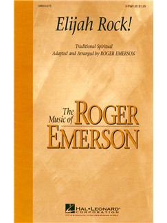 Roger Emerson: Elijah Rock! (2-Part) Books | 2-Part Choir, Piano Accompaniment