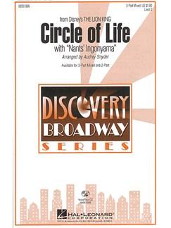 Circle Of Life (With Nants' Ingonyama) - SAB Books | SAB, Piano Accompaniment