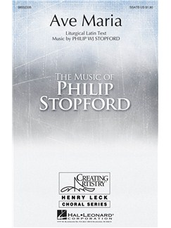 Philip Stopford: Ave Maria Books | SATB, Organ Accompaniment