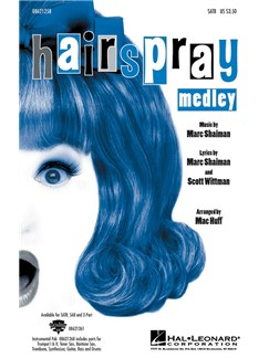 Marc Shaiman: Hairspray Medley (SATB) Books | SATB, Piano Accompaniment