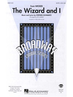 Stephen Schwartz: The Wizard And I (SATB) Books | SATB, Piano Accompaniment