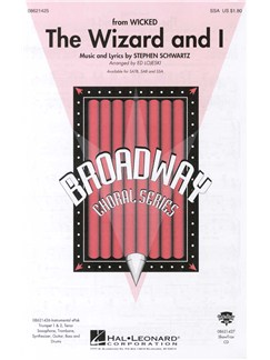 Stephen Schwartz: The Wizard And I (SSA) Books | SSA, Piano Accompaniment