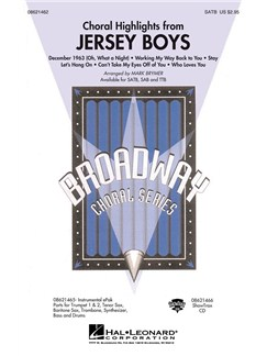 Jersey Boys (Choral Highlights) - SATB Books | SATB, Piano Accompaniment