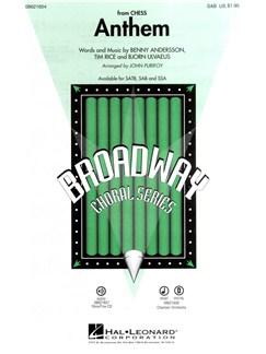 Josh Groban: Anthem (Chess) - SAB Books | SAB, Piano Accompaniment