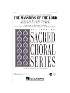 Nick Glennie-Smith: The Mansions of the Lord (TTBB) Books | TTBB, Piano Accompaniment