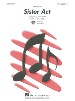 Sister Act (Medley) - SSA Books | SSA