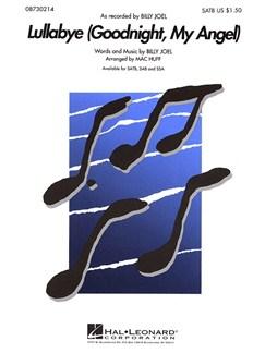 Billy Joel: Lullabye (Goodnight, My Angel) - SATB Books | SATB