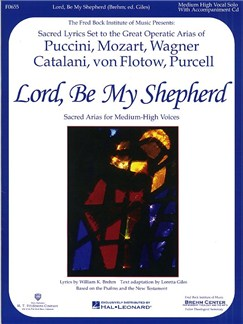 Lord, Be My Shepherd (Medium-High Voice) Books and CDs | High Voice, Medium Voice, Piano Accompaniment