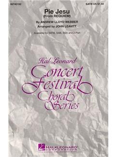 Andrew Lloyd Webber: Pie Jesu (Requiem) - SATB Books | SATB