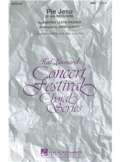 Andrew Lloyd Webber: Pie Jesu (Requiem) - Arr. Leavitt (SSA) Books | SSA