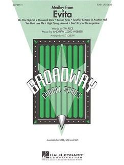 Andrew Lloyd Webber: Evita - Medley (SAB) Books | Soprano, Alto, Bass