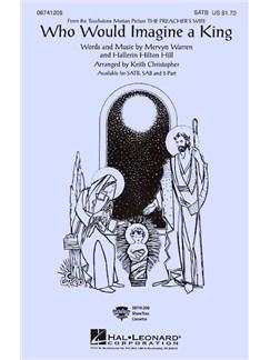 Who Would Imagine A King (SATB) Books | SATB, Piano Accompaniment