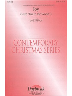 Joy (With 'Joy To The World') Books | SATB with Piano Accompaniment
