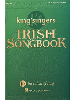 King's Singers Irish Songbook (Collection) Books | SATB, Piano Accompaniment