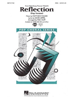 Reflection (Pop Version) Books | SSA, Piano Accompaniment
