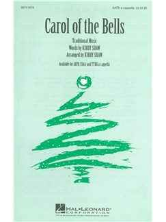 Carol Of The Bells (SATB) Books | SATB
