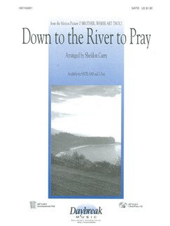 Down To The River To Pray (SATB) Bog | SATB, Klaverakkompagnement