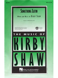 Kirby Shaw: Something Latin (SAB) Books | SAB, Piano Accompaniment