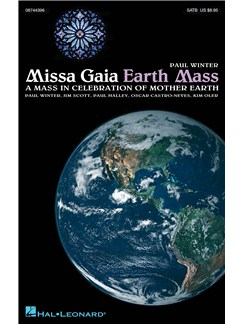 Paul Winter: Missa Gaia (Earth Mass) - SATB Books | SATB