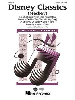 Disney Classics Medley (2-Part) Books | 2-Part Choir, Piano Accompaniment